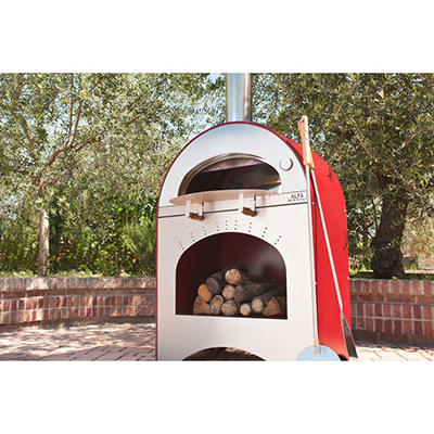 Alfa Pizza and Brace Wood Burning Outdoor Pizza Oven