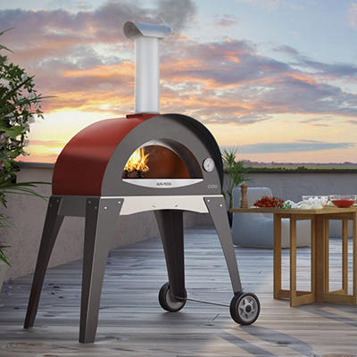 Alfa Forno Ciao Outdoor Pizza Oven - Red