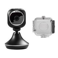 FX Indoor HD Wifi Camera with Sports Case Bundle