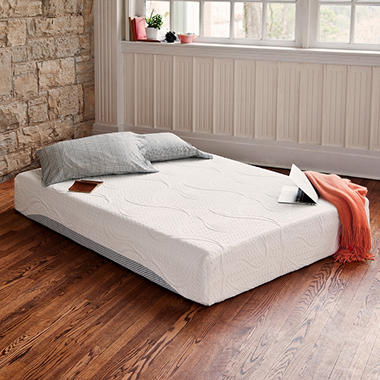 "10"" Night Therapy Pressure Relief Memory Foam Mattress - Queen"