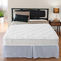 "Night Therapy iCoil 8"" Spring Mattress & Bed Frame Set - Queen"