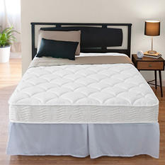 """Night Therapy iCoil 8"""" Spring Mattress and SmartBase Foundation Bed Frame Set, King"""