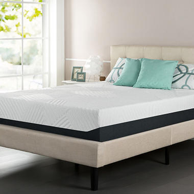 Pillow Top Pressure Relief Memory Foam Mattress King Sams