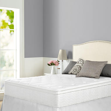 "12"" Night Therapy Euro Box Top Spring Mattress - Queen"
