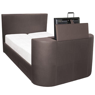 Night Therapy's Revolutionary Entertainment TV Bed - The Ultimate in Luxury and Technology - Queen