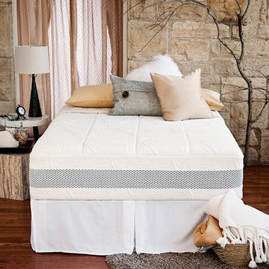 "Night Therapy 14"" Deluxe Grand Memory Foam Mattress & Bed Frame Set - Queen"