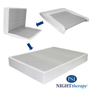 Night Therapy Bi-Fold? Box Spring Folding Foundation (Various Sizes)
