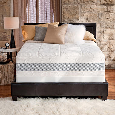 "14"" Night Therapy Deluxe Grand Memory Foam Mattress & Bi-Fold� Box Spring Set ? Cal King"