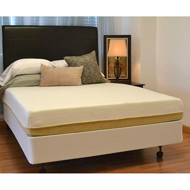 "9"" Night Therapy NuRest� Better Than Latex? Pressure Relief Mattress & Bi-Fold� Box Spring Set - Queen"