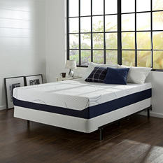 "12"" Night Therapy Elite Gel Infused Memory Foam Prestige Mattress & BiFold Box Spring Set - Various Sizes"