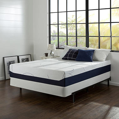 "Night Therapy Elite 12"" MyGel� Ultimate Memory Foam Mattress & BiFold� Box Spring Set  - Twin"