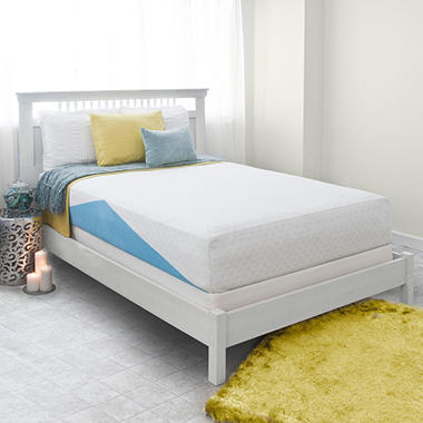 "Night Therapy Elite 12"" MyGel� Ultimate Memory Foam Mattress & BiFold� Box Spring Set  - Queen"