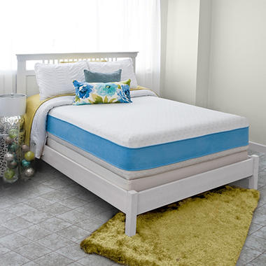 "Night Therapy Elite 13"" MyGel� Prestige Memory Foam Mattress & BiFold� Box Spring Set  - Queen"