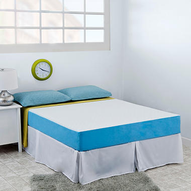 "Night Therapy Elite 8"" MyGel� Memory Foam Mattress & Bed Frame Set   - Queen"