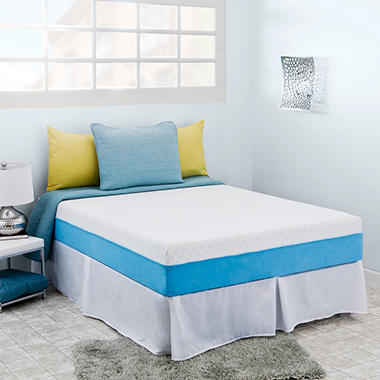 "Night Therapy Elite 10"" MyGel® Memory Foam Mattress & Bed Frame Set  - Queen"