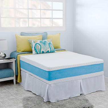 "Night Therapy Elite 13"" MyGel� Prestige Memory Foam Mattress & Bed Frame Set  - Cal King"