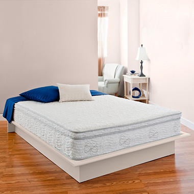 "Night Therapy Elite 11"" MyGel® Memory Foam Euro Box Top Spring Mattress - Queen"