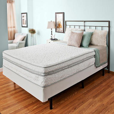 "Night Therapy Elite 13"" MyGel� Memory Foam Extra Plush Box Top Spring Mattress & Bi-Fold� Box Spring - Queen"