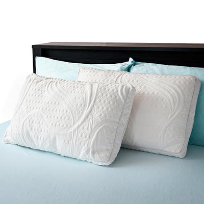 Night Therapy Pressure Relief Memory Foam & Down Alternative Pillow - 2 pk.