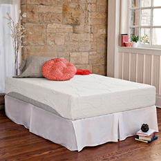 Night Therapy Memory Foam 10 Inch Pressure Relief Mattress & Bed Frame Set (Various Sizes)
