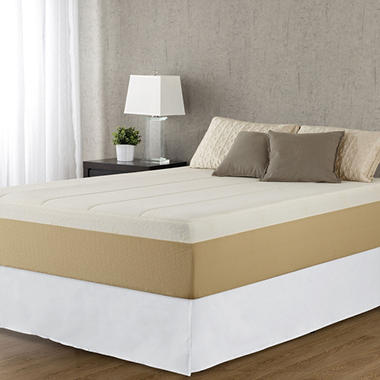 Night Therapy Memory Foam 14 Inch Pressure Relief Mattress & Bed Frame Set  (Various Sizes)