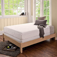 "Night Therapy 8"" Memory Foam Mattress and Bed Frame Set - Various Sizes"
