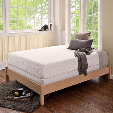 "8"" Night Therapy Memory Foam Mattress & Bi-Fold� Box Spring Set - TwinXL"