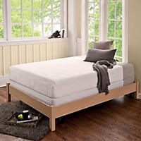 Night Therapy Memory Foam 8 Inch Pressure Relief Queen Mattress & Bi-Fold Box Spring Set