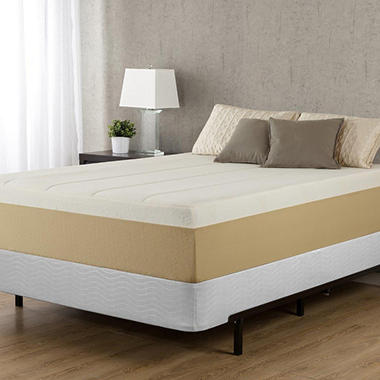 "14"" Night Therapy Deluxe Grand Memory Foam Mattress & Bi-Fold® Box Spring Set –King"