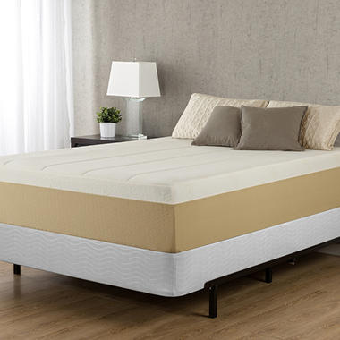"14"" Night Therapy Deluxe Grand Memory Foam Mattress & Bi-Fold® Box Spring Set – Cal King"