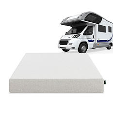 "Sleep Revolution 8"" Memory Foam RV Mattress - Short Queen"