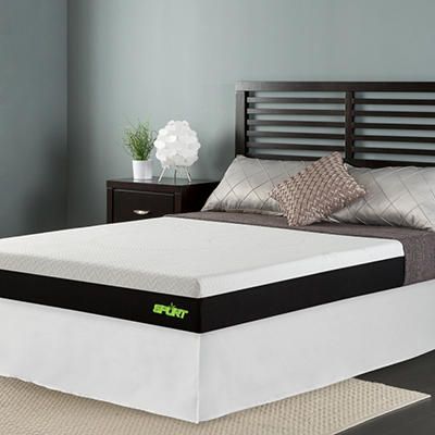"Sleep Revolution 8"" Sport Memory Foam Mattress with Celliant Sleep Technology and Smartbase - Various Sizes"