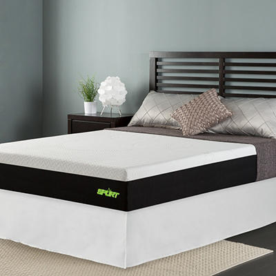 "Sleep Revolution 10"" Sport Memory Foam Mattress with Celliant Sleep Technology and Smartbase - Various Sizes"