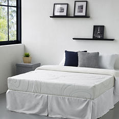 Night Therapy iCoil 9 inch Spring & MyGel Memory Foam Hybrid Mattress & Bed Frame Set-Various Sizes