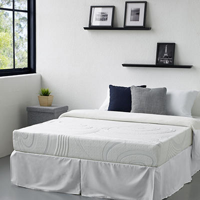 "9"" Night Therapy Elite Gel Infused Memory Foam and Spring Mattress & Bed Frame Set - Various Sizes  $100 OFF"