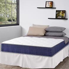 "Night Therapy iCoil 11"" Spring Mattress & Bed Frame Set (Various Sizes)"