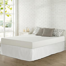 "Night Therapy 8"" Classic Memory Foam Mattress and SmartBase Set (Various Sizes)"