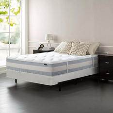 """Night Therapy 12"""" Memory Foam Hybrid Mattress and BiFold Box Spring Set (Assorted Sizes)"""