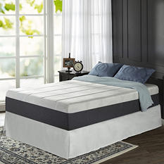 "Night Therapy Positive Sleep 13.5"" ADAPTIVE Memory Foam Mattress and SmartBase Bed Frame Set (Assorted Sizes)"