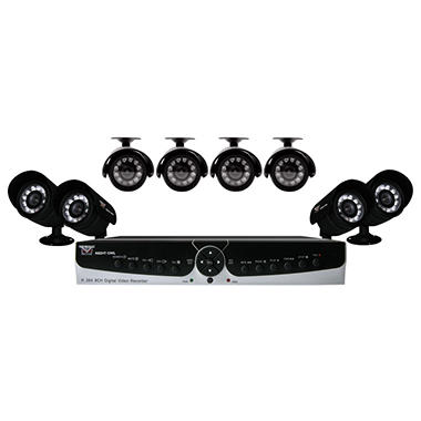 Night Owl Poseidon-85 8 Channel Surveillance System - 8 Cameras