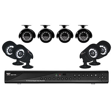 Night Owl Zeus-85 16 Channel Surveillance System