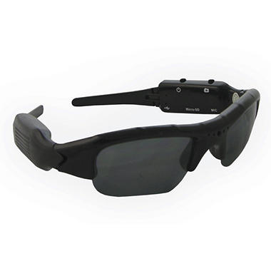 Night Owl Covert Video and Audio Recording Sunglasses