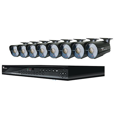 Night Owl 16 Channel Security System, 1TB HDD & 8 High-Resolution 600TVL Cameras