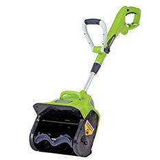 "GreenWorks 7 Amp 12"" Corded Snow Thrower"