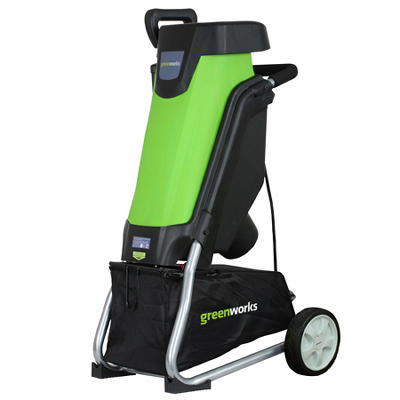 GreenWorks 24052 15A Corded Chipper/Shredder