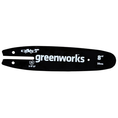 "GreenWorks 29062 8"" Replacement Pole Saw Bar"