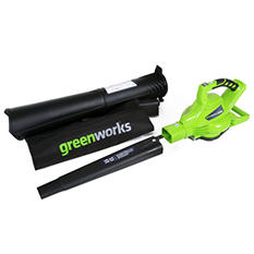 GreenWorks G-MAX 40V Digipro Brushless Blower - Battery and Charger Not Included