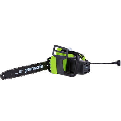 "GreenWorks 20332 14.5A 18"" Corded Chainsaw"