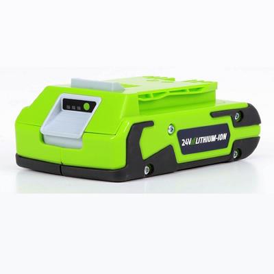GreenWorks 29842 G-24 24V Lithium-Ion 2AH Battery