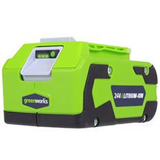 GreenWorks 29852 G-24 24V Lithium-Ion 4AH Battery